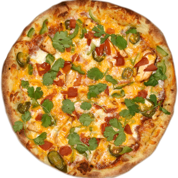 South Western Chicken Pizza