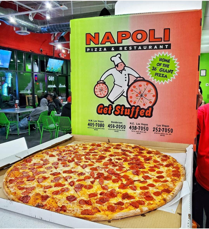 Napoli Pizzeria Home Of The 36 Pizza